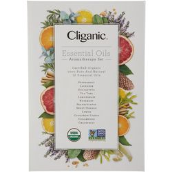 Cliganic 12-Pc. Aromatherapy Essential Oil Set