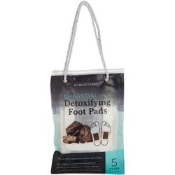 Best Accessory Group 5 Pair Charcoal Detoxifying Foot