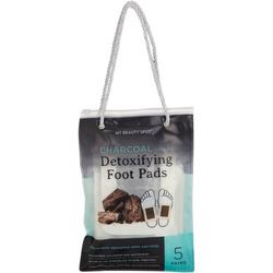 5 Pair Charcoal Detoxifying Foot Pads