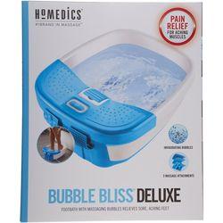Homedics Bubble Bliss Deluxe Foot Bath