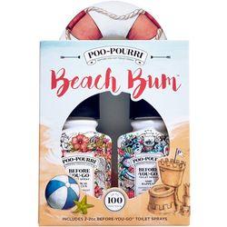 Poo-Pourri Beach Bum Before You Go Toilet Spray Set