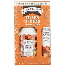 Poo-Pourri 2 Pc.Limited Edition Pumpkin Spice Spray Set