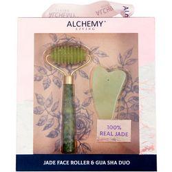 Alchemy Jade Face Roller & Gua Sha Set