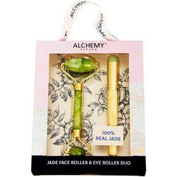 Jade Face Roller & Eye Roller Set