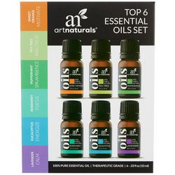 Art Naturals Top 6 Essential Oils Set