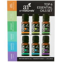 Top 6 Essential Oils Set