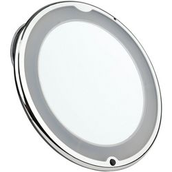 Multi-Function LED Light Up Super Suction Mirror