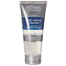 Skincare Cosmetics Men's 5 oz Retinol Anti-Aging Cleanser