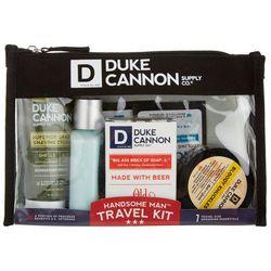 Handsome Man Travel Grooming Essentials Kit
