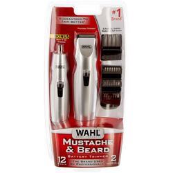 12-Pc. Mustache & Bear Battery-Powered Trimmer