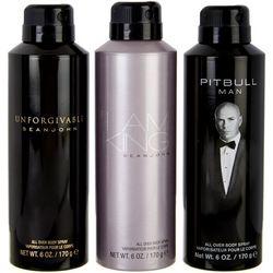 Pitbull Mens 3-Pk. 6 oz Body Spray Set