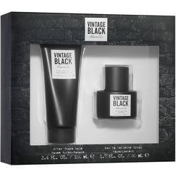 Kenneth Cole Vintage Black Mens EDT Spray 2-pc. Set