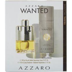 Azzaro Mens Wanted Edt Spray & Deodosrant Set