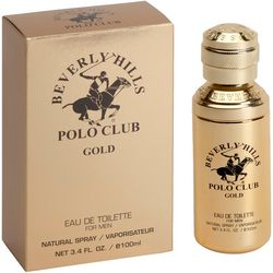 Beverly Hills Polo Club Gold Mens 3.4 fl. oz. EDT Spray