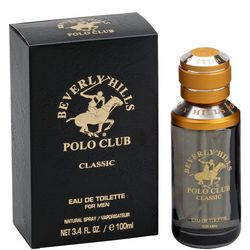 Beverly Hills Polo Club Classic Mens 3.4 Fl. Oz. EDT Spray