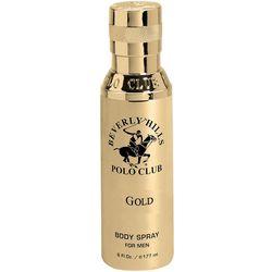 Beverly Hills Polo Club Gold Mens 6 fl. oz. EDT Spray
