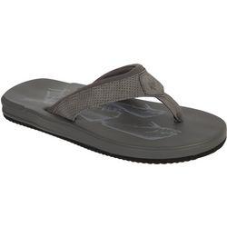 Guy Harvey Mens Tidal Dorado Flip Flops