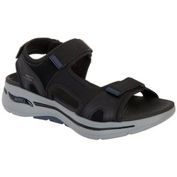 Skechers Mens Go Walk Arch Fit Sandals