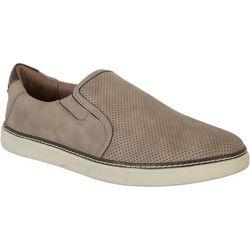 Dr. Scholl's Mens Eager Suede Look Slip On Sneaker