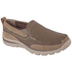 Skechers Mens Relaxed Fit Milford Slip On Shoes