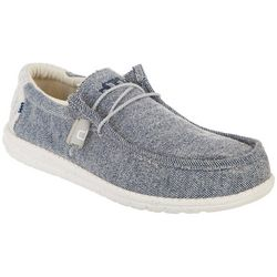 Hey Dude Men's Wally Stretch Casual Shoes