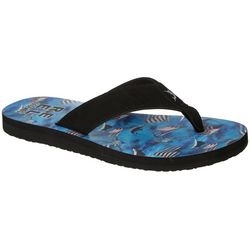 Reel Legends Mens Wave Flip Flops