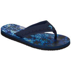 Reel Legends Wave II Black Flip Flops