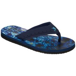 Wave II Black Flip Flops