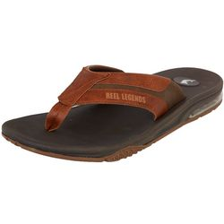 Reel Legends Mens Seacoast Flip Flops