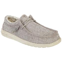 Mens Wally Canvas Casual Shoes