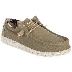 HEY DUDE Mens Wally Stretch Casual Shoes
