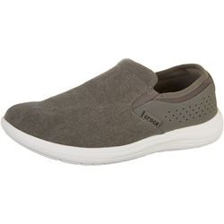 Crocs Mens Reviva Canvas Slip On Shoes