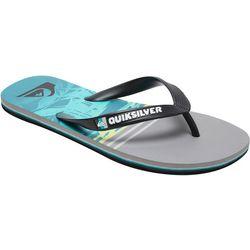 Quiksilver Mens Molokai Tropics Flip Flops