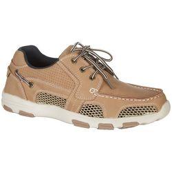 Mens Atlantic Drainage Boat Shoes