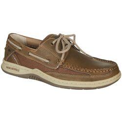 Margaritaville Mens Anchor Lace Up Boat Shoes
