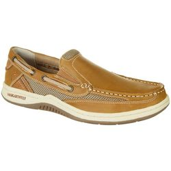Margaritaville Mens Anchor Slip On Boat Shoes
