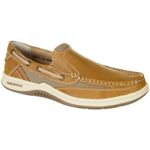 Margaritaville Mens Anchor Lace Boat Shoe