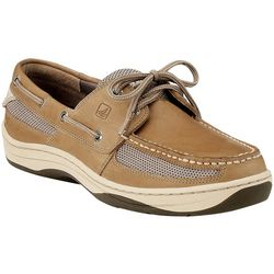 Mens Tarpon Tan 2-Eyelet Boat Shoes
