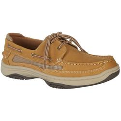 Mens Catamaran Tan Boat Shoes