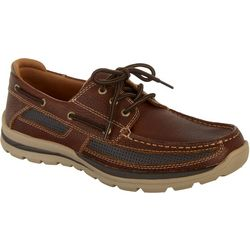 Reel Legends Mens Navigator III Boat Shoes