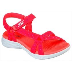 Skechers Womens On The GO 600 Luminous Sandals