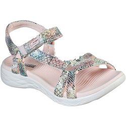 Skechers Womens OnTheGO 600 Boa Sandal