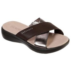 Skechers Womens On The Go Luxe Sassy Sandals