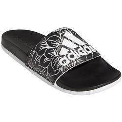 Adidas Womens Adilette Floral Comfort Slides