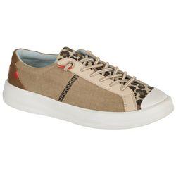 Hey Dude Womens Karina Leopard Sneaker