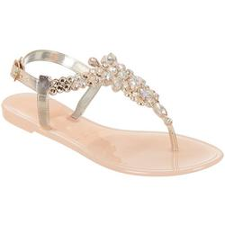 Womens Bling Jelly Sandals