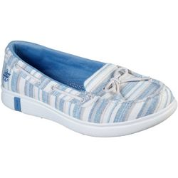 Womens On the GO Glide Ultra Seashore Slip-Ons