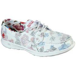Skechers Womens GoWalk Lite Flores Shoe