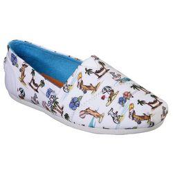 Skechers Womens BOBS Playa Pups Shoes