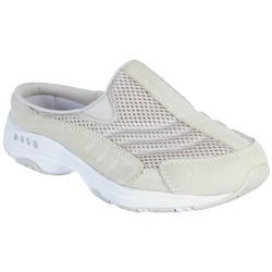 Womens Traveltime Suede Athletic Mules
